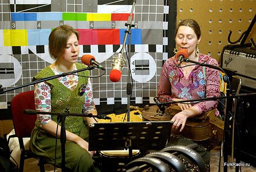 Варвара Котова и Полина Терентьева