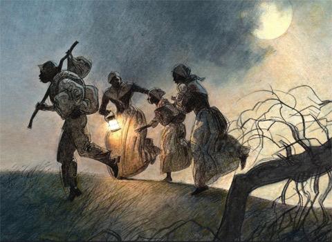 Беглецы на Подпольной Железной Дороге